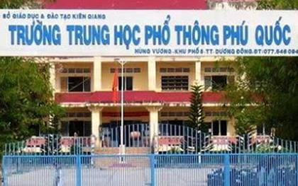 Thay giao day Toan lam lo de thi o Phu Quoc bi ky luat canh cao hinh anh