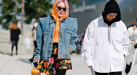 Nhung xu huong street style noi bat nhat tai tuan le thoi trang Seoul hinh anh