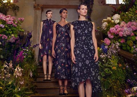 Bo suu tap H&M x Erdem: Hoa tiet hoa nhi len ngoi hinh anh