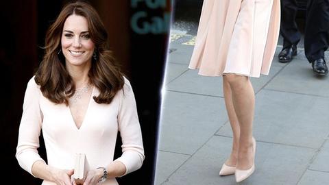 Cach dien giay sanh dieu cua Cong nuong Kate Middleton hinh anh