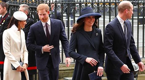 Gap Nu hoang, Meghan Markle dong dieu thoi trang voi Kate Middleton hinh anh