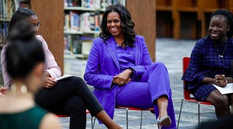 Cuu De nhat phu nhan Michelle Obama an mac sanh dieu the nao? hinh anh
