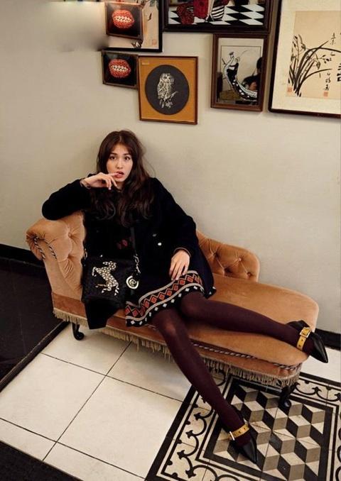 Jeon Somi - 'bong hong lai' xinh dep, so huu gu thoi trang tre trung hinh anh 2
