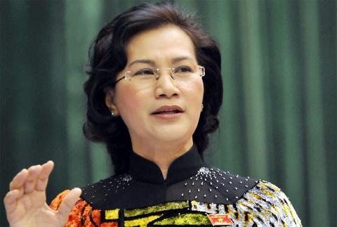 Ba Nguyen Thi Kim Ngan duoc nhieu tin nhiem cao nhat hinh anh