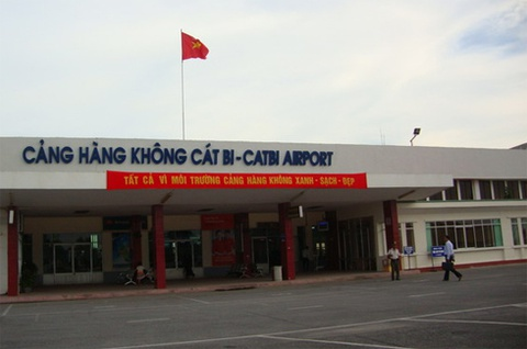Duong bang san bay Cat Bi xuat hien vet ran nut hinh anh