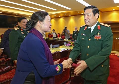 Dai tuong Phung Quang Thanh du giao luu 'Khat vong doan tu' hinh anh