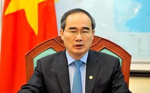 Le cong bo ong Nguyen Thien Nhan lam Bi thu TP.HCM hinh anh