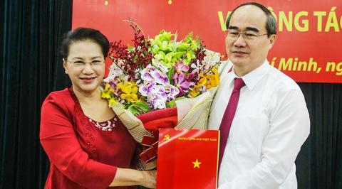 Ong Nguyen Thien Nhan lam Bi thu TP.HCM hinh anh