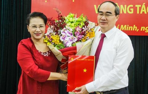 Bo Chinh tri quyet dinh phan cong Bi thu Thanh uy TP. HCM hinh anh