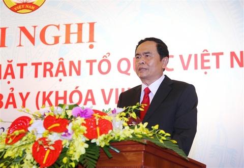 Ong Tran Thanh Man lam Chu tich Mat tran To quoc Viet Nam hinh anh