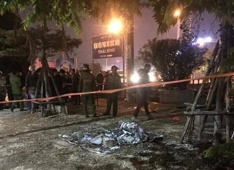 Một người chết vì đánh nhau gần trụ sở Công an Thái Bình