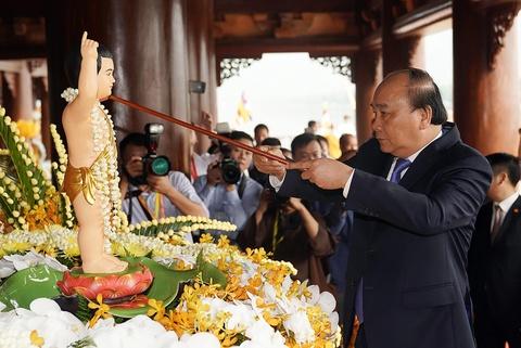 Thu tuong thuc hien nghi le tam Phat truyen thong o dai le Vesak 2019 hinh anh 7