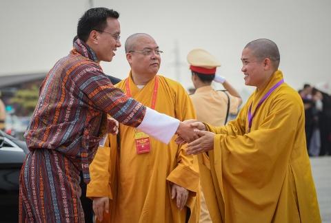 Thu tuong thuc hien nghi le tam Phat truyen thong o dai le Vesak 2019 hinh anh 6