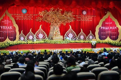 Thu tuong thuc hien nghi le tam Phat truyen thong o dai le Vesak 2019 hinh anh 8