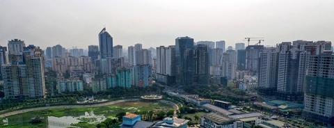 Ngạt thở với 'rừng chung cư' ở Hà Nội và TP.HCM