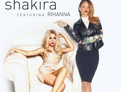 Shakira boc lua cung Rihanna trong ca khuc moi hinh anh