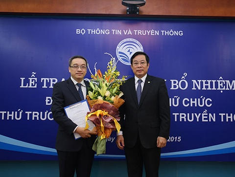 Bo Thong tin Truyen thong co Thu truong moi hinh anh