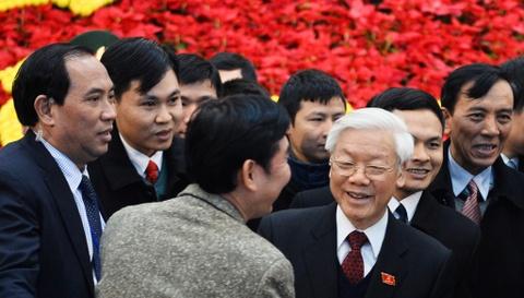 Tong bi thu Nguyen Phu Trong tai dac cu hinh anh 3