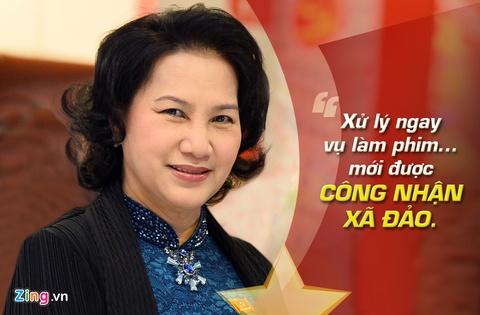 9 phat ngon an tuong cua ba Nguyen Thi Kim Ngan hinh anh 8