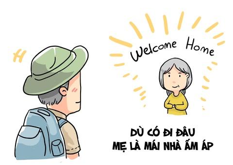 Hi hoa: Voi ban, me la nguoi nhu the nao? hinh anh 2
