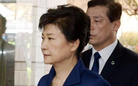 Ba Park Geun Hye toi toa nghe quyet dinh bat giam hinh anh