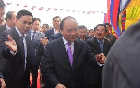 Thu tuong Nguyen Xuan Phuc du le khanh thanh cau Long Binh-Chrey Thom hinh anh