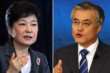 Tong thong dac cu Han Quoc tung that bai truoc ba Park Geun Hye hinh anh