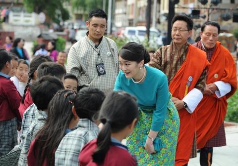 Cong chua Nhat Ban khoe tai ban cung tai Bhutan hinh anh 5