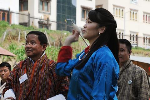 Cong chua Nhat Ban khoe tai ban cung tai Bhutan hinh anh 3