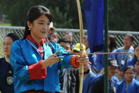 Cong chua Nhat Ban khoe tai ban cung tai Bhutan hinh anh 2