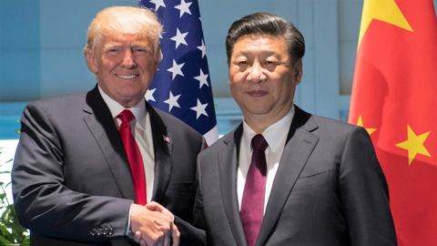 Tong thong Trump gap Chu tich Tap Can Binh ben le Hoi nghi G20 hinh anh