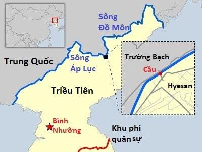 Vi sao Trung Quoc voi va cung co bien gioi voi Trieu Tien? hinh anh 3