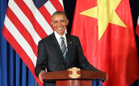 Nhin lai chuyen tham lich su cua TT Obama toi Viet Nam hinh anh