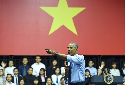 Nhin lai chuyen tham lich su cua TT Obama toi Viet Nam hinh anh 10