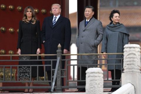 Vo chong Tong thong Trump di tham Tu Cam Thanh hinh anh 2