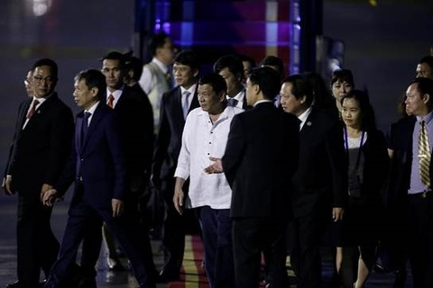 Tong thong Philippines Duterte den Da Nang du APEC hinh anh 6