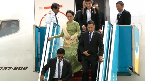 Ba Aung San Suu Kyi den Da Nang du doi thoai APEC - ASEAN hinh anh 2