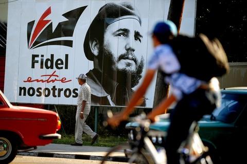 Cuba tuong niem mot nam ngay mat lanh tu Fidel Castro hinh anh 8