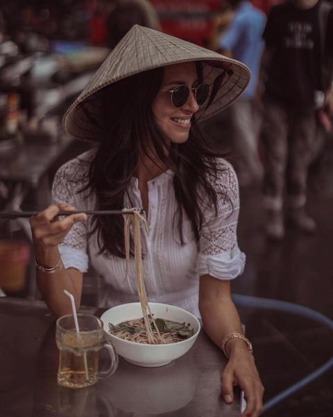 Hanh trinh check-in xuyen Viet cua chau gai ty phu Anh hinh anh 4
