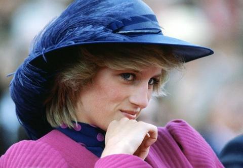 Cong nuong Diana, nu hoang cua nhung chiec mu hinh anh
