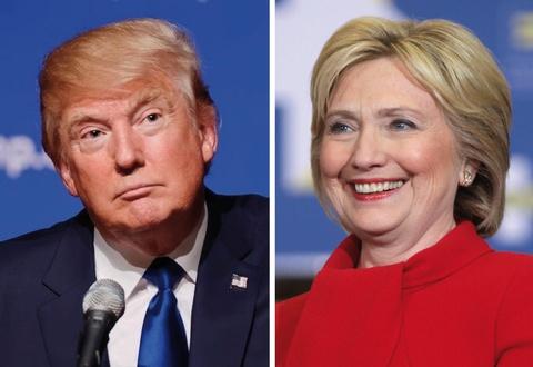 Clinton van dan truoc 5 diem sau 'bat ngo thang 10' tu FBI hinh anh
