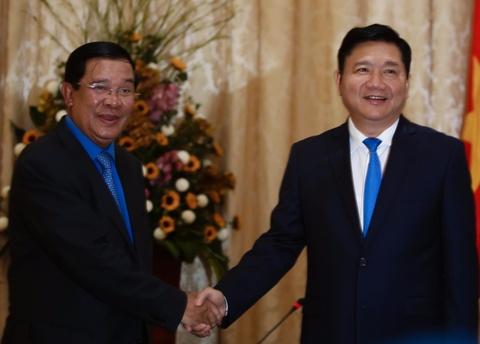Thu tuong Campuchia Hun Sen gap go lanh dao TP.HCM hinh anh