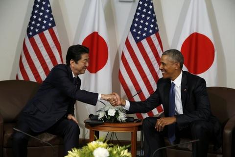 Tong thong Obama va Thu tuong Abe cui dau tai Tran Chau Cang hinh anh 11