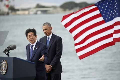 Tong thong Obama va Thu tuong Abe cui dau tai Tran Chau Cang hinh anh 4