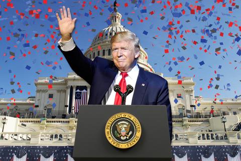 Le nham chuc 20/1: 'Mot ngay hoanh trang' cua Trump hinh anh
