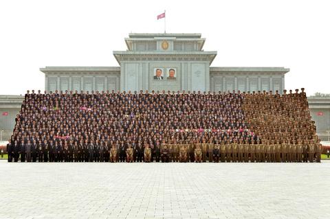 Kim Jong Un cung cac tuong linh mung vu thu bom H hinh anh 11
