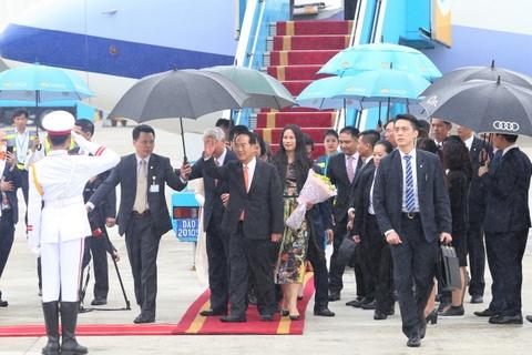 May bay cho doan Dai Bac Trung Hoa du APEC den Da Nang hinh anh 6