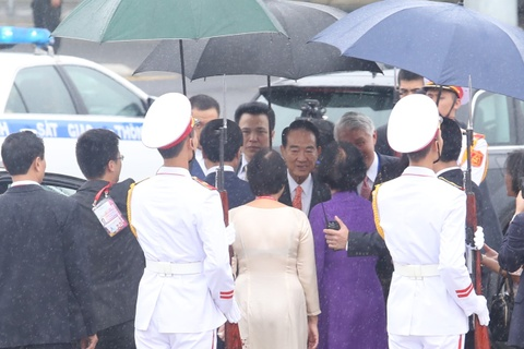May bay cho doan Dai Bac Trung Hoa du APEC den Da Nang hinh anh 7
