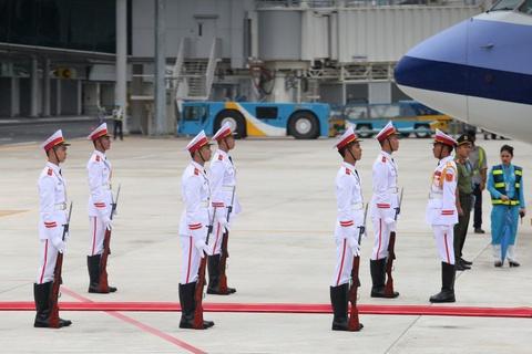 May bay cho doan Dai Bac Trung Hoa du APEC den Da Nang hinh anh 8