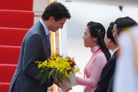 Thu tuong Trudeau den Da Nang du APEC hinh anh 4